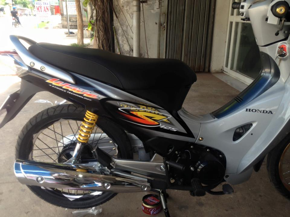 Honda Future 2 don phong cach Wave 125 day chat choi - 2