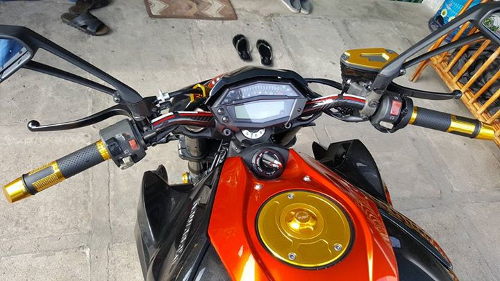 Kawasaki Z1000 hang trung bay cuc cool - 5