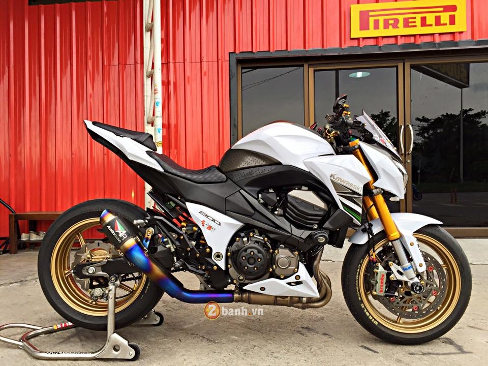 Kawasaki Z800 sieu chat trong ban do full option