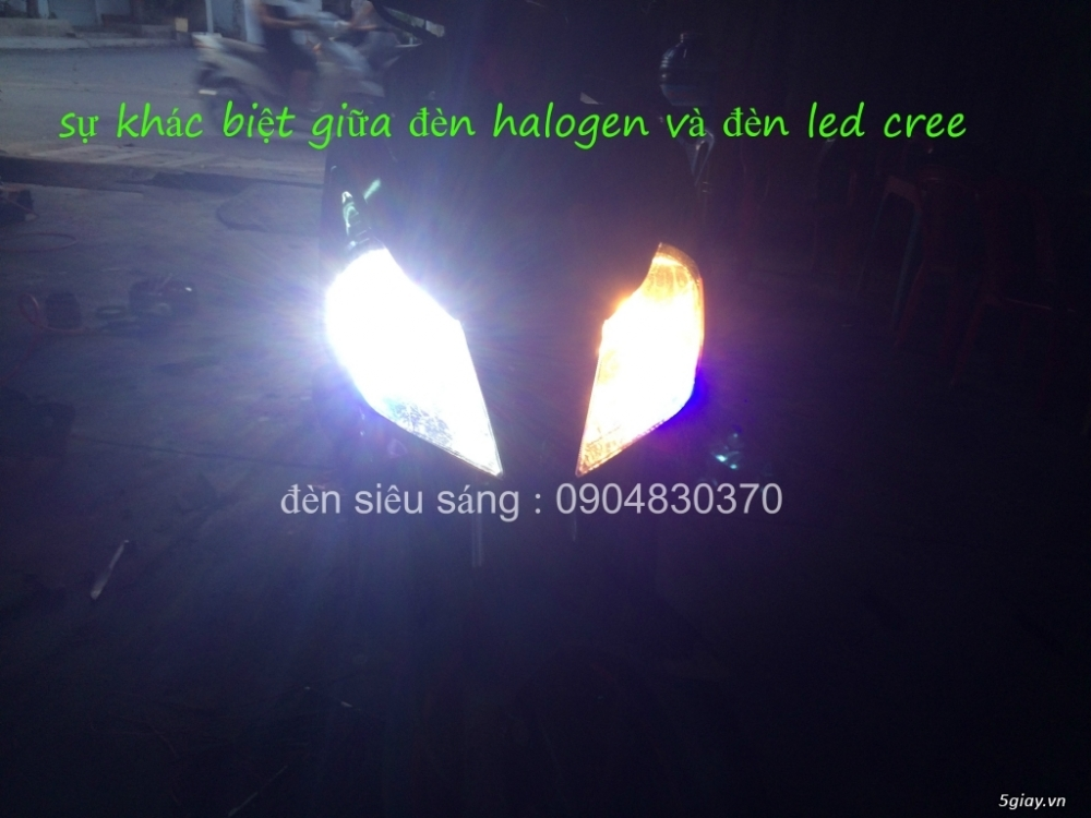 led cree philips lumiled cho o to xe may chinh hang gia mem nhat sai gon - 22