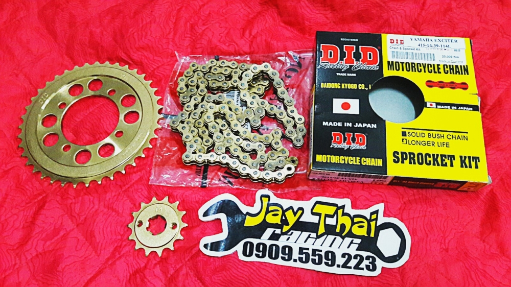 Nhong Sen Dia GOLD DID 7li Made in JAPAN - 3