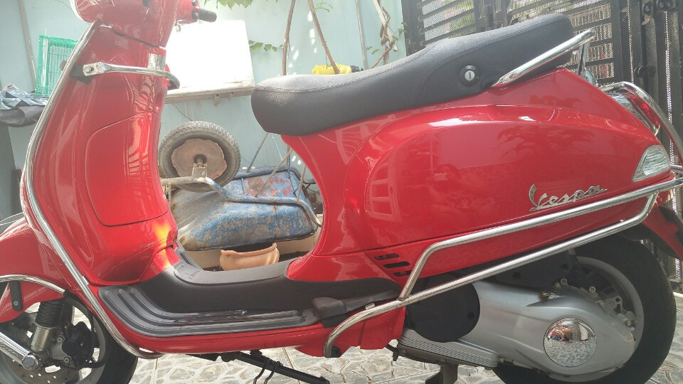 Piaggio Vespa LX 125 2014 mau do bien so thanh pho moi 95 - 2