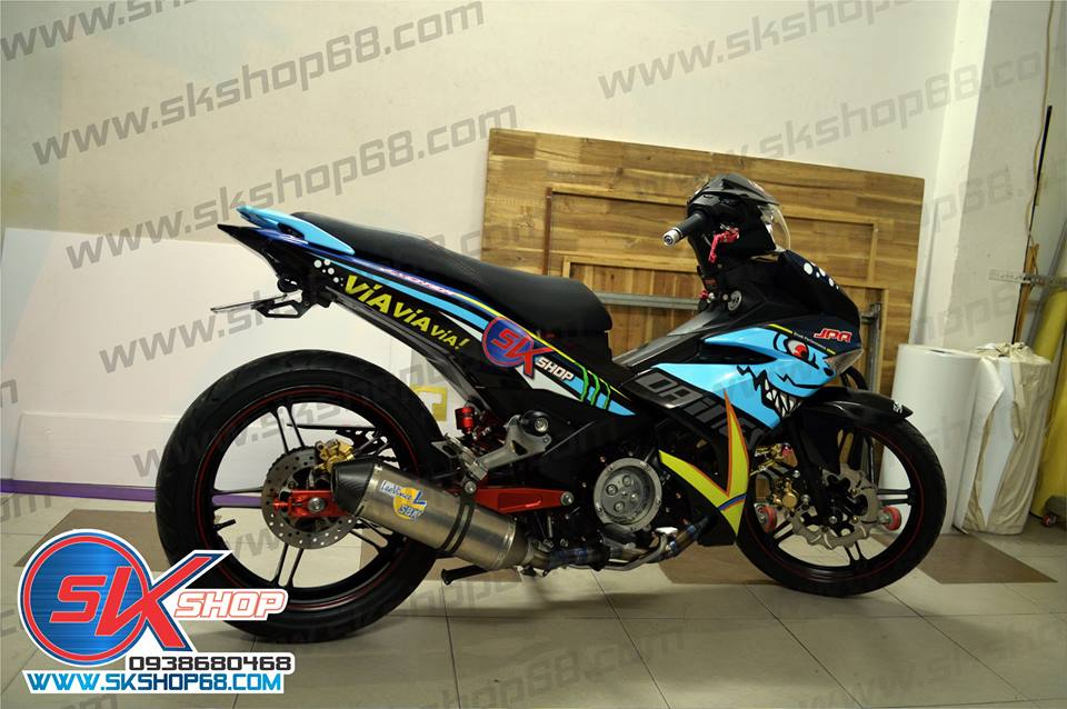 Sk Shop chuyen Decal xe may PKL - 6