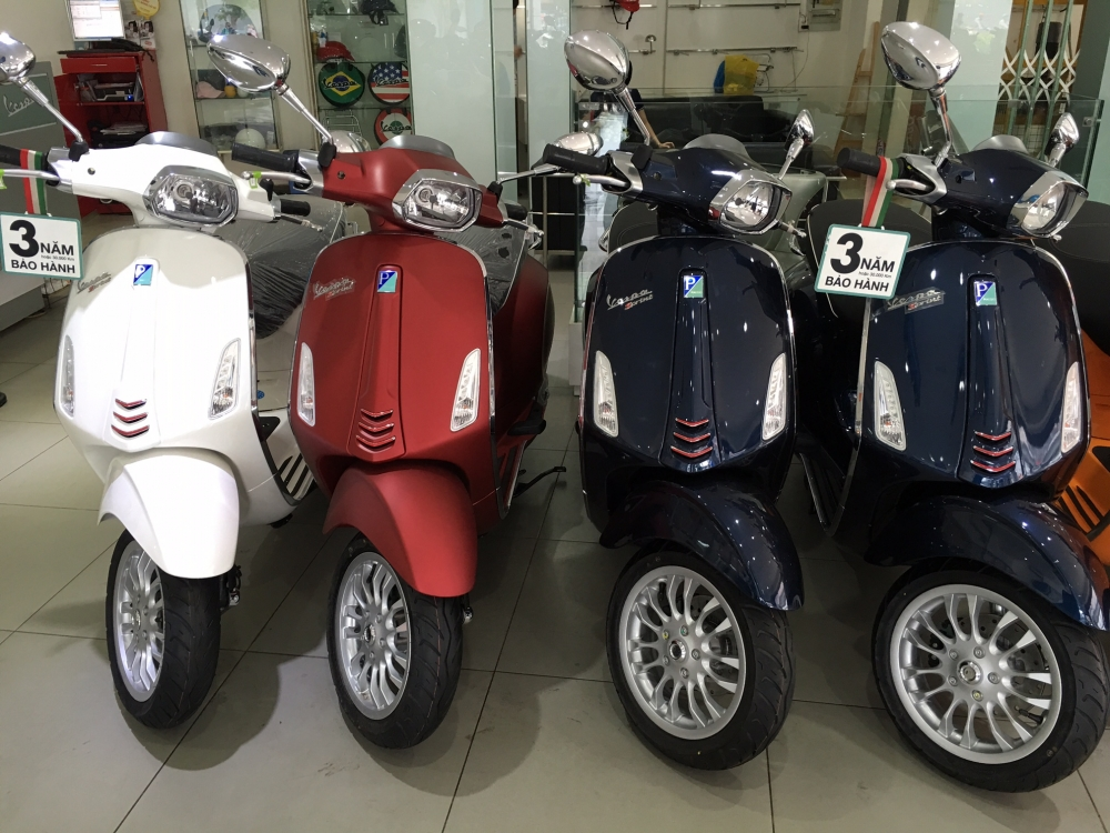 Vespa Primavera va Sprint ABS All New0935 282928 Huy Phuoc