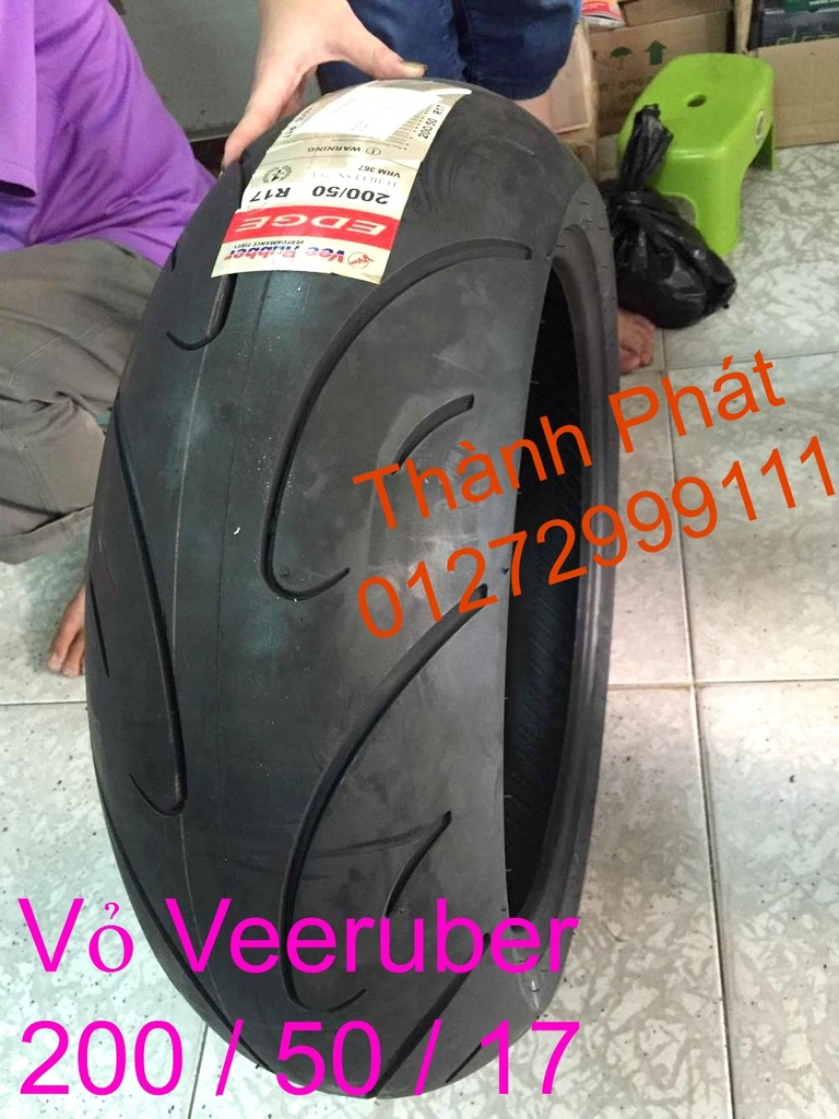 Vo lop xe may PKL va xe nho DunLop Michelin Briedgestone Continental IRC VeeRuber Swallow - 38