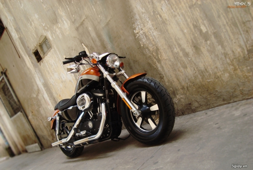 ___ Can Ban___HARLEY DAVIDSON Custom 1200 CA 2014 ABS___