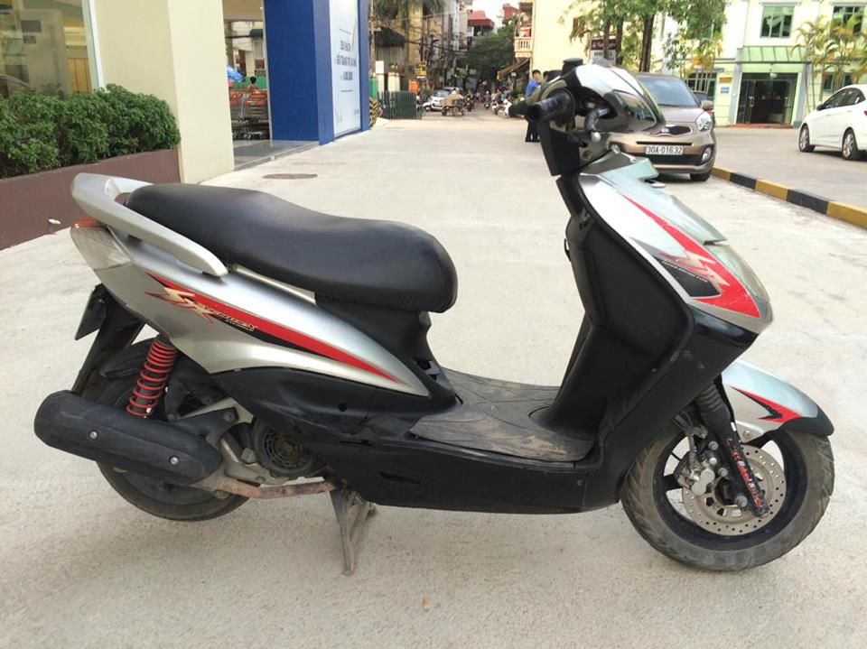 Ban Piaggio Fly 125 doi 2008 mau trang it sd 29Z2 - 2