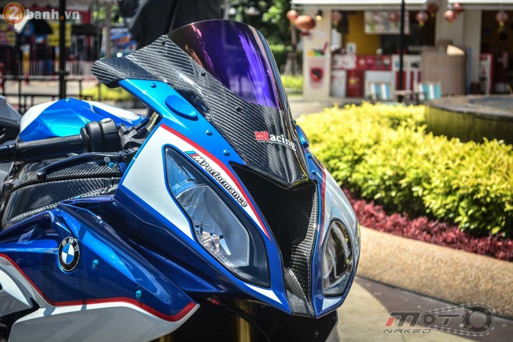 BMW S1000RR 2015 hut hon trong ban do cuc chat cua biker Thai - 5