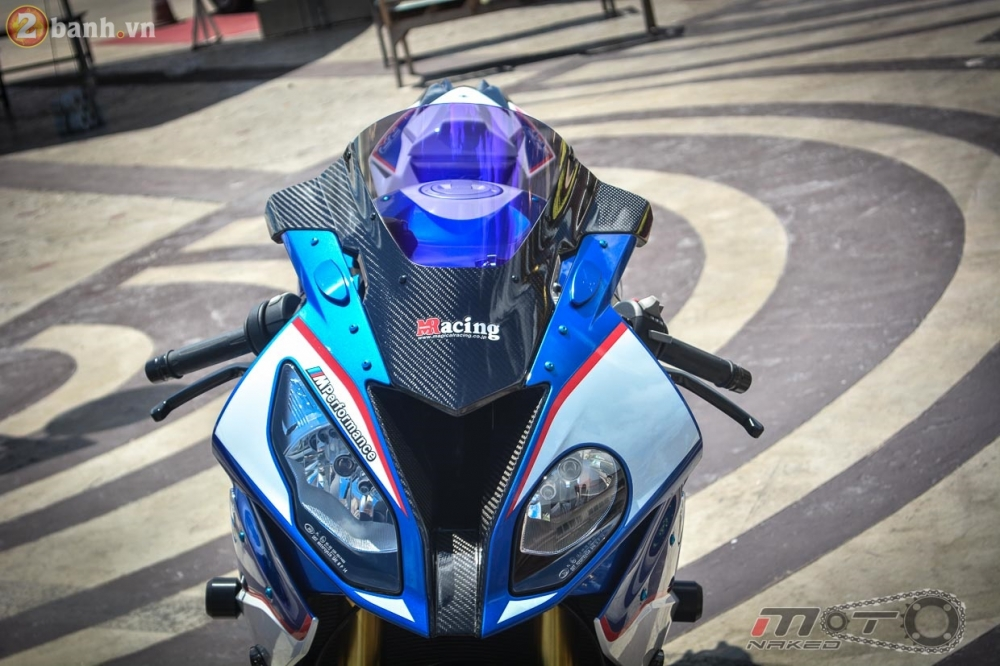 BMW S1000RR 2015 hut hon trong ban do cuc chat cua biker Thai - 6