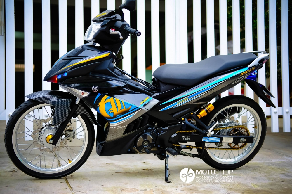 Bong bay cung Exciter 150 - 3