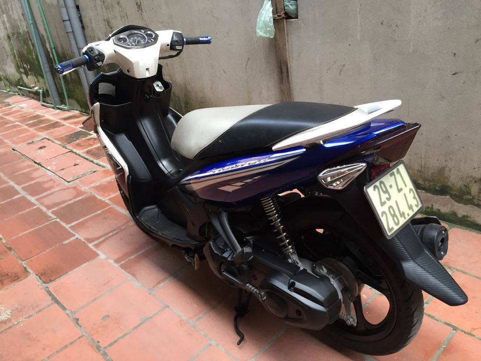 Can ban Yamaha Nouvolx 135 Sport xanh GP 2011 bien HN 5 so xe con dep may cuc chat 15tr - 2