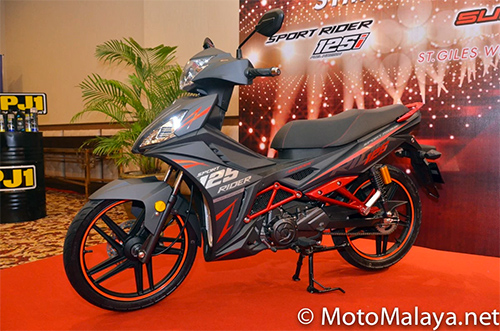 Can canh chi tiet SYM Sport Rider 125i vua duoc ra mat