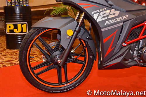 Can canh chi tiet SYM Sport Rider 125i vua duoc ra mat - 5