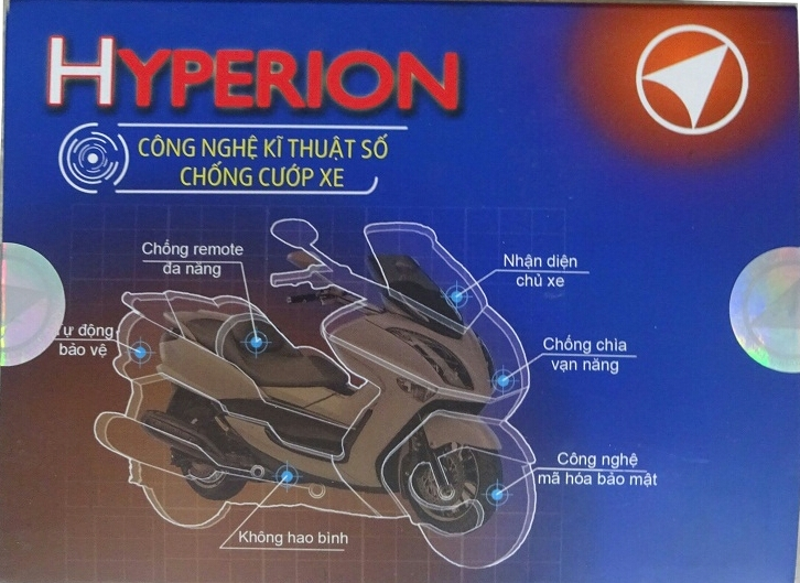 chip smart key HYPERION chong cuop - 2