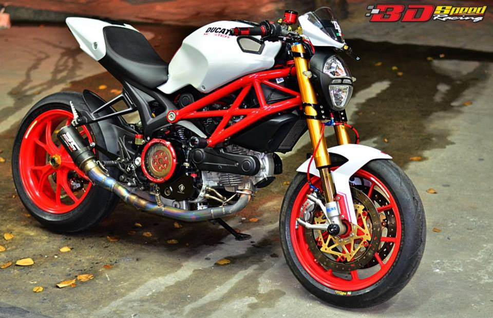 Clip Tong hop am thanh cac loai po do tren Ducati Monster 796