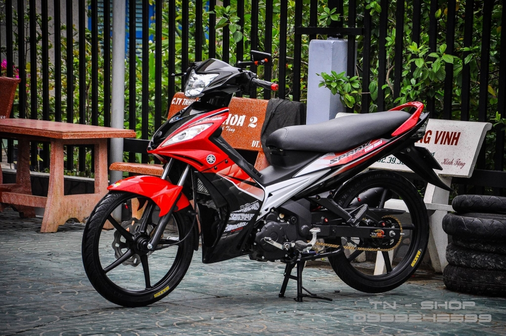Exciter 135 don Spark 135 phong cach zin tu mien tay - 3