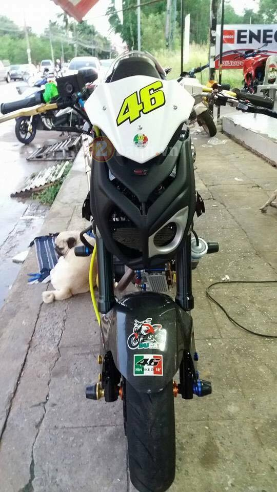Exciter 150 do doc voi phong cach Minibike - 6