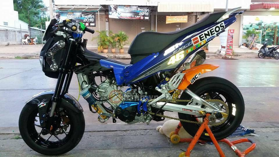 Exciter 150 do doc voi phong cach Minibike - 7