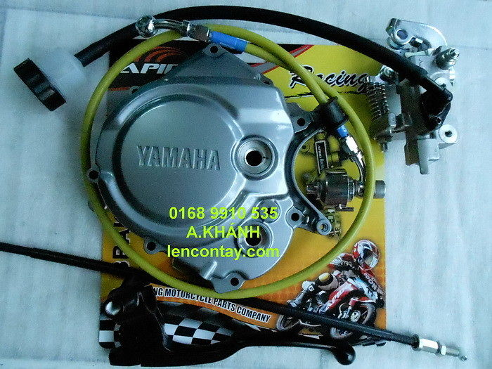 EXCITER Nang cap may len full 135cc 150cc 175cc 200cc lam may tu do va noi do cho exciter - 6