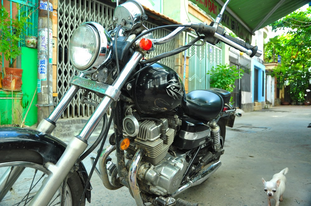 HCM Can ban Honda Rebel 250 HQCN 2009 - 6