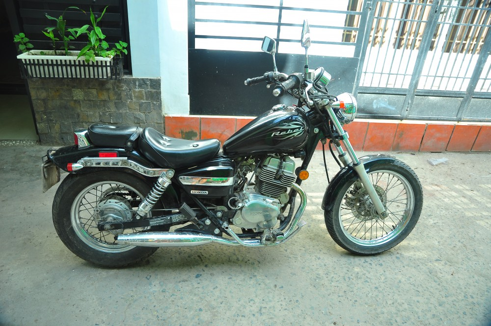 HCM Can ban Honda Rebel 250 HQCN 2009 - 3