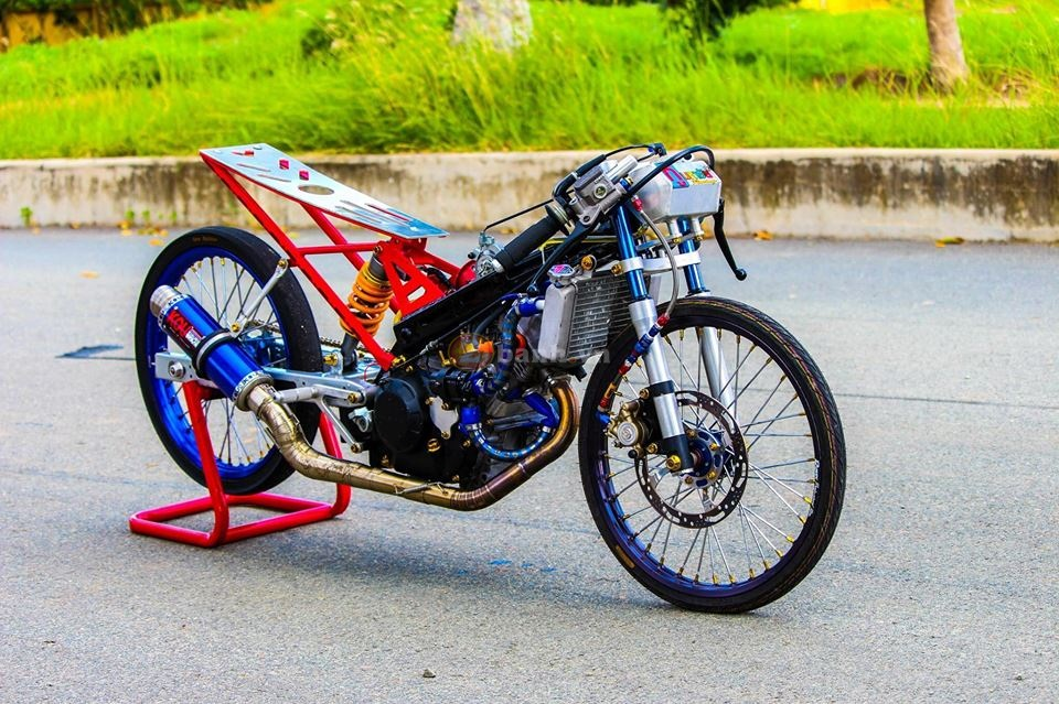 Sonic khung dung chat drag bike - 2