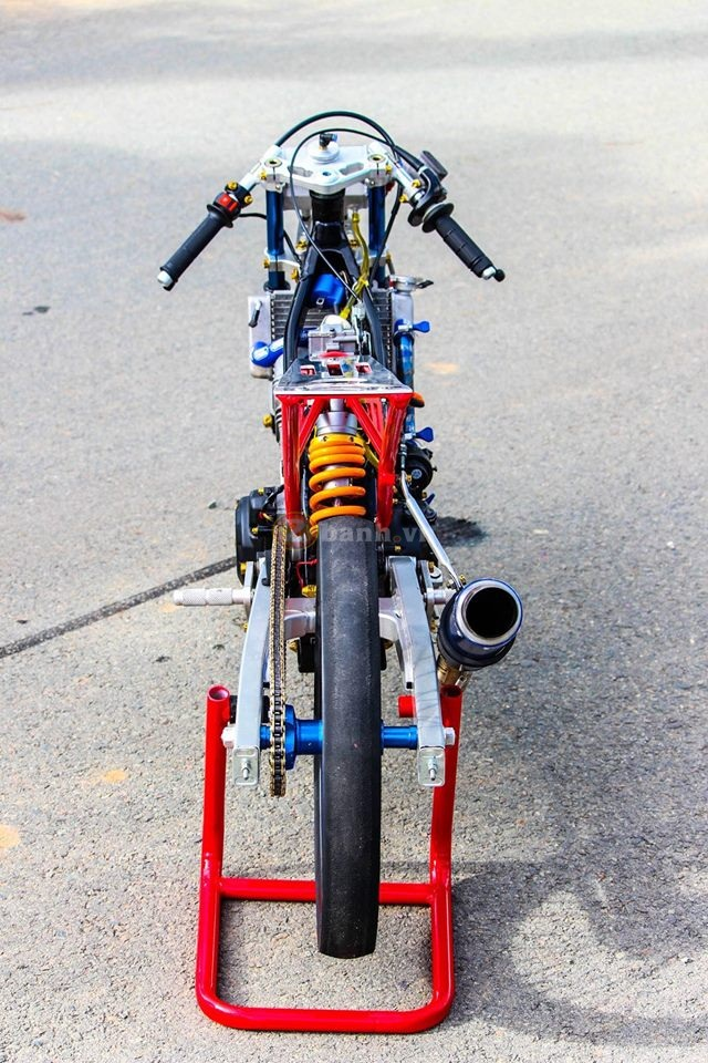 Sonic khung dung chat drag bike - 3