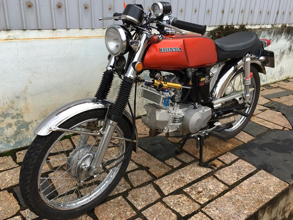 Honda 67 do cuc chat voi bo may 190cc - 10