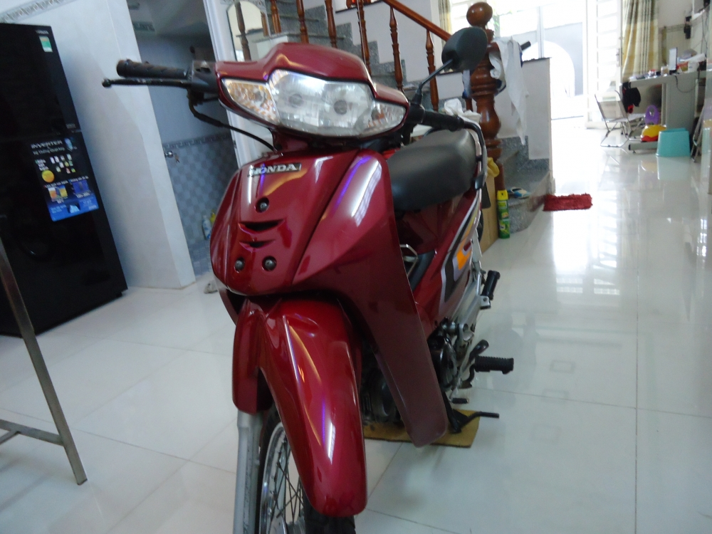 Honda Wave Alpha loc den 2002 mau Do - 6