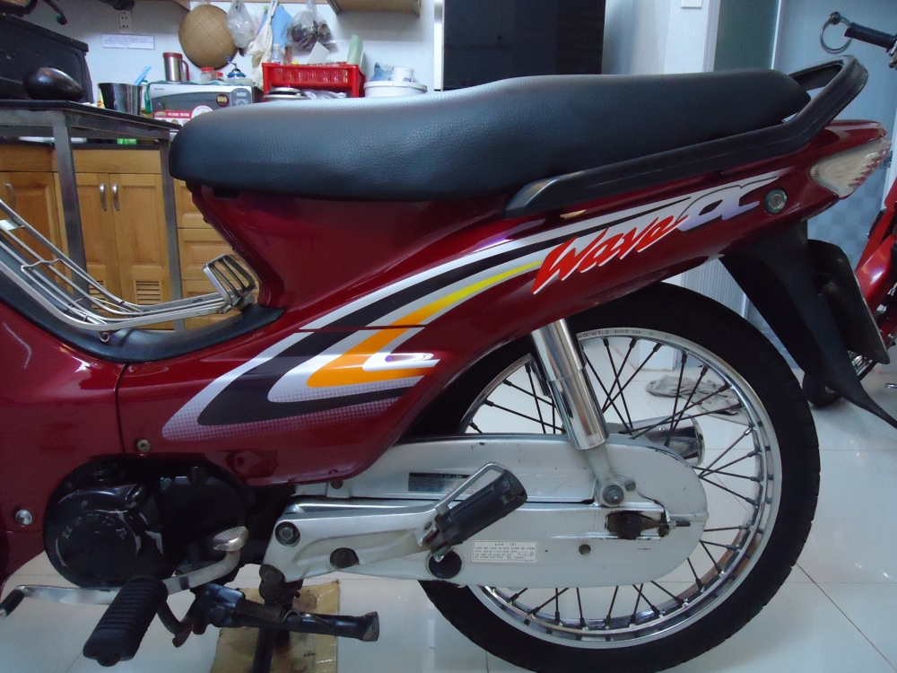 Honda Wave Alpha loc den 2002 mau Do - 7