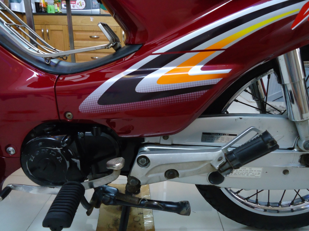 Honda Wave Alpha loc den 2002 mau Do - 9