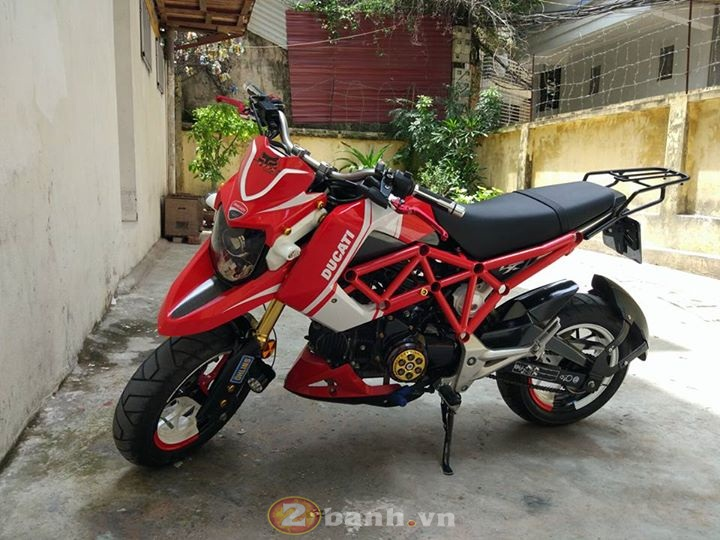 MSX Hyperstrada chien binh nhi day co bap