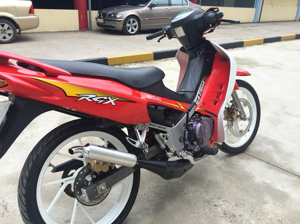 Suzuki Xipo Satria RGX mau do 6 so 120cc MBC bien 40404