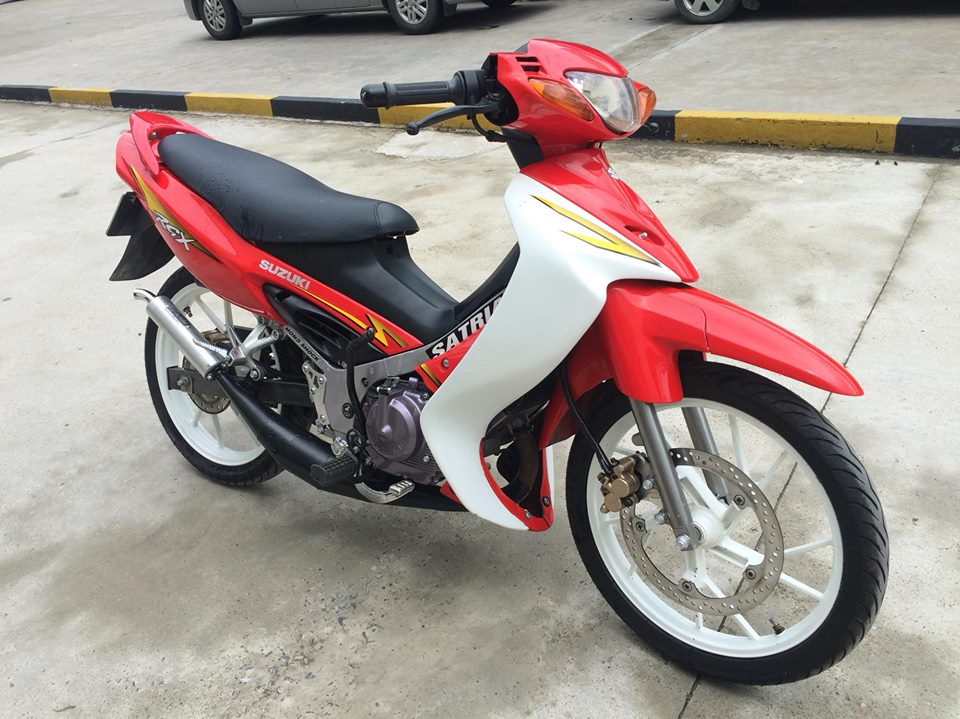 Suzuki Xipo Satria RGX mau do 6 so 120cc MBC bien 40404 - 4