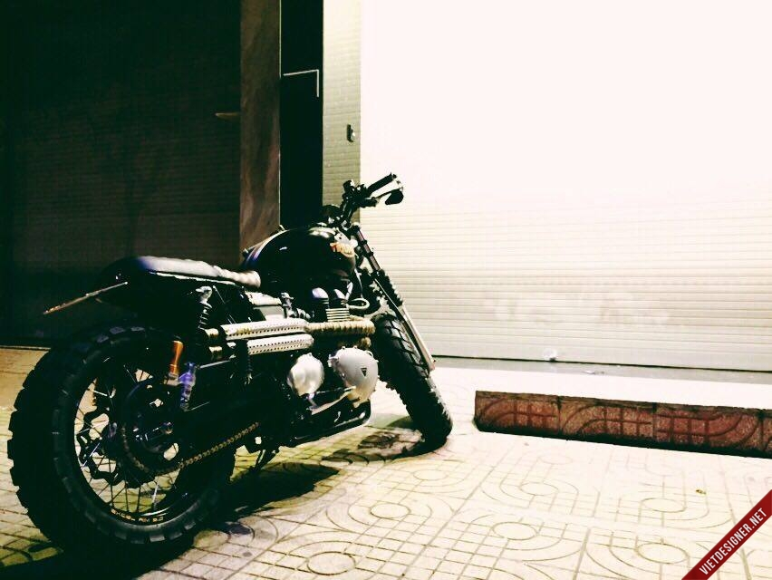 Triumph do Scramler cuc chat - 2