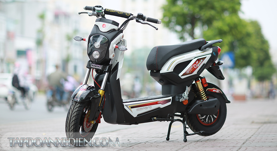 Xe dien Zoomer X5 2016 pha cach trong design