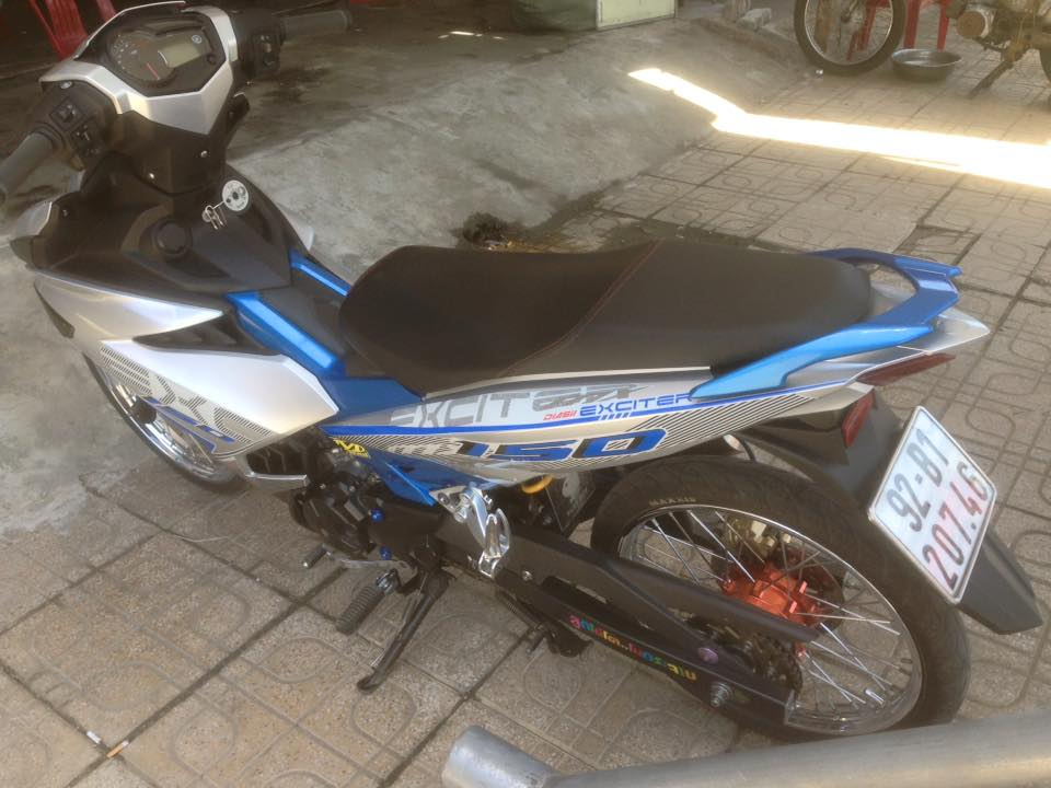Exciter 150 Tam Ky don gian nhe nhang - 2