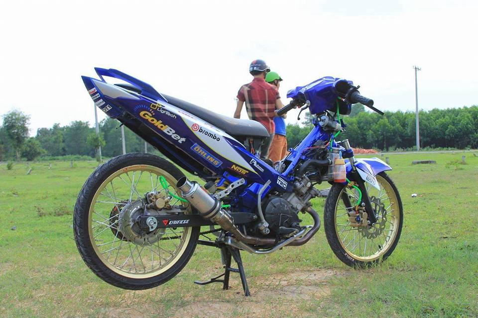 Tam huyet khong it do vao chiec Exciter 135 nay