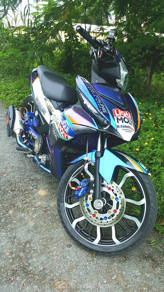 Exciter 150 Can Tho song nuoc doat giai o Sai Gon - 5