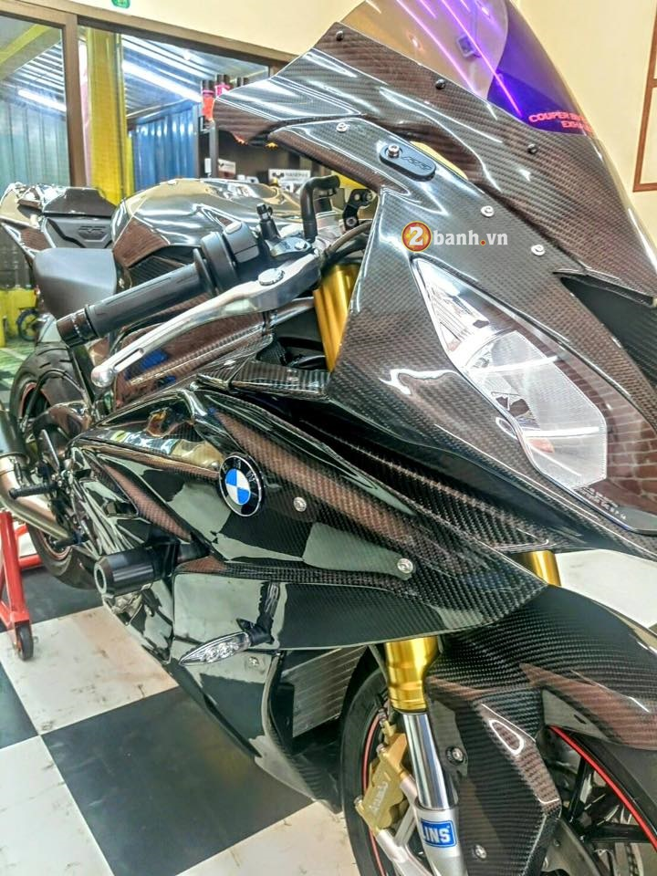 BMW S1000RR 2015 day tinh te voi phien ban Over Carbon - 9