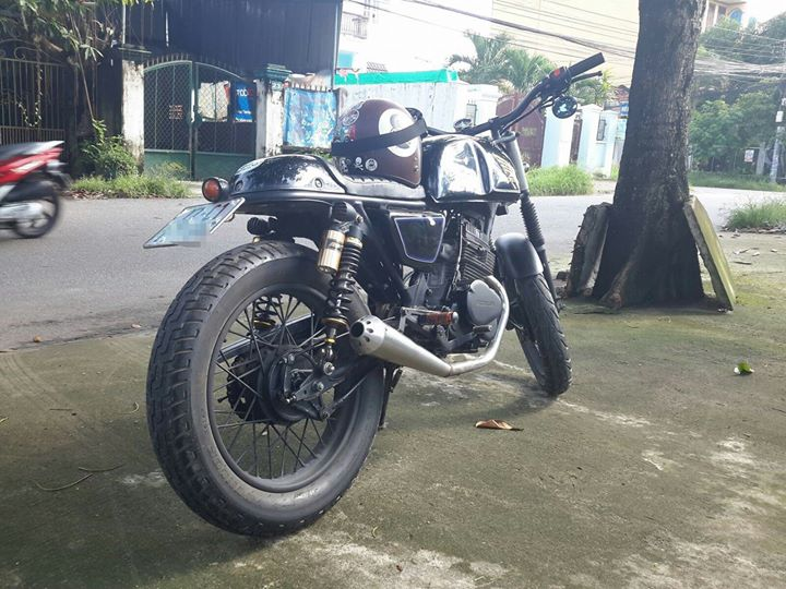 CB125T do Cafe Racer - 3