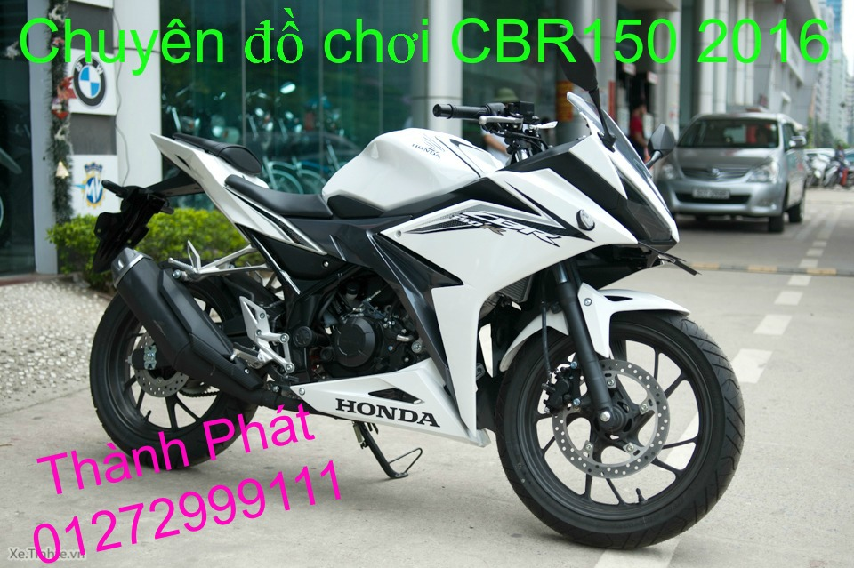 Chuyen do choi Honda CBR150 2016 tu A Z Up 21916