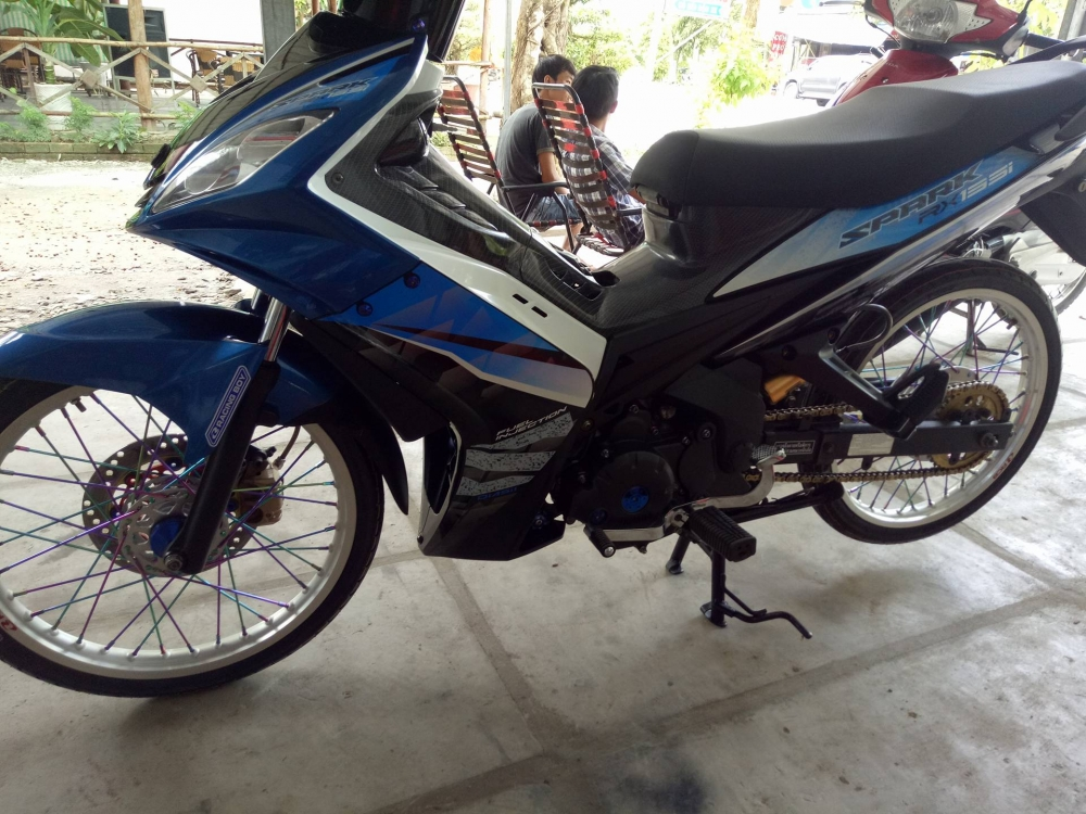 Exciter 135 may Thai don nhe