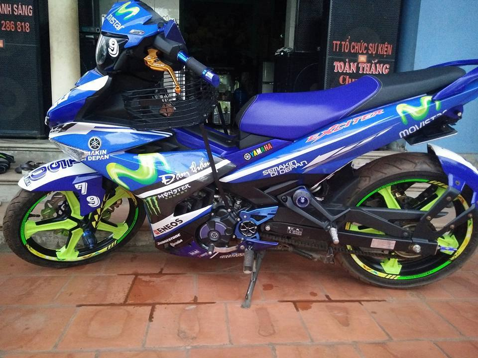 Exciter 150 movistar do doc dao den tu Bac Giang