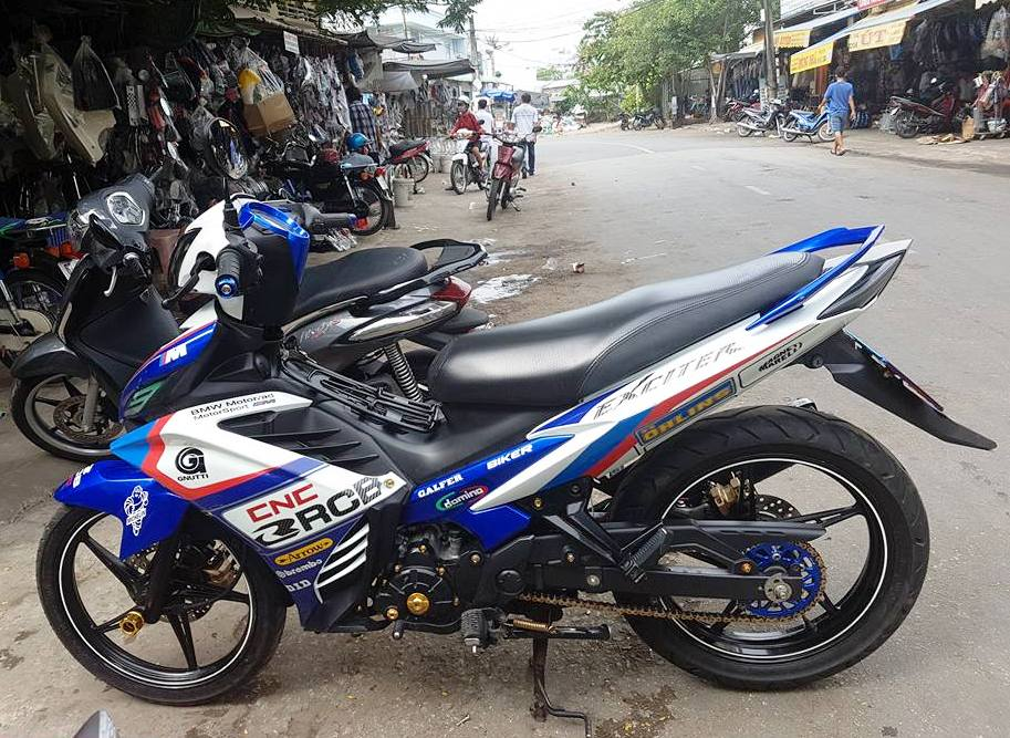 Exciter do mang hoi huong BMW Motorrad