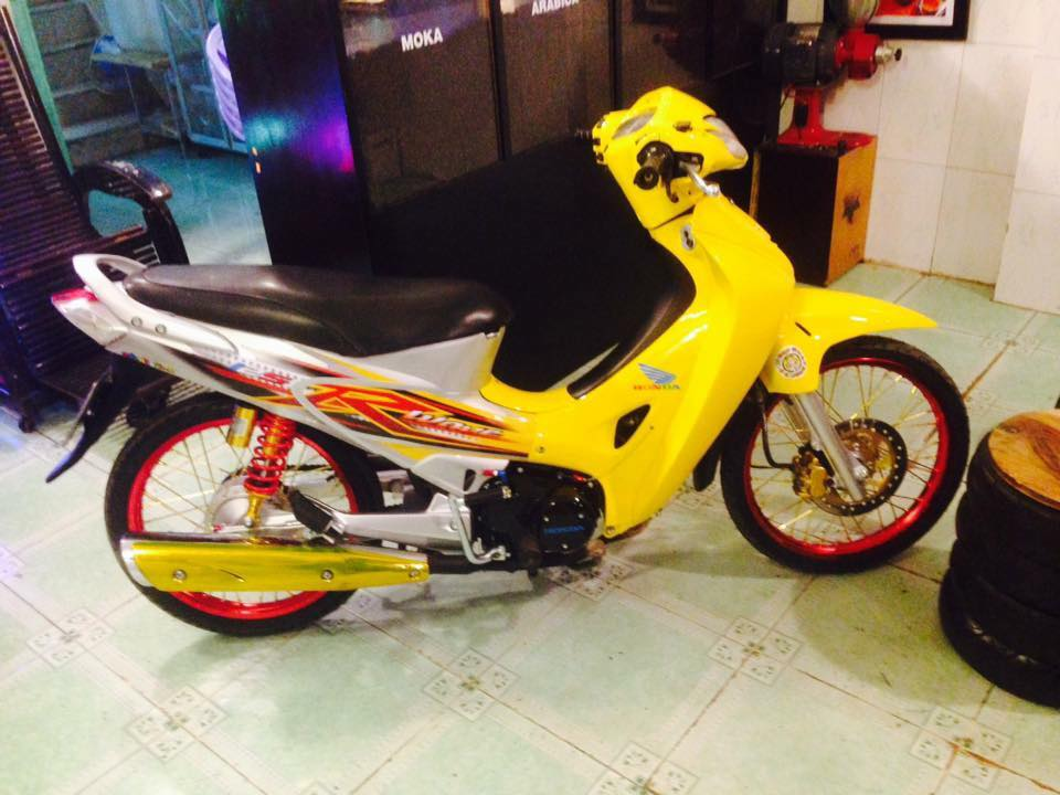 Honda Future 125 do phong cach Thai - 7
