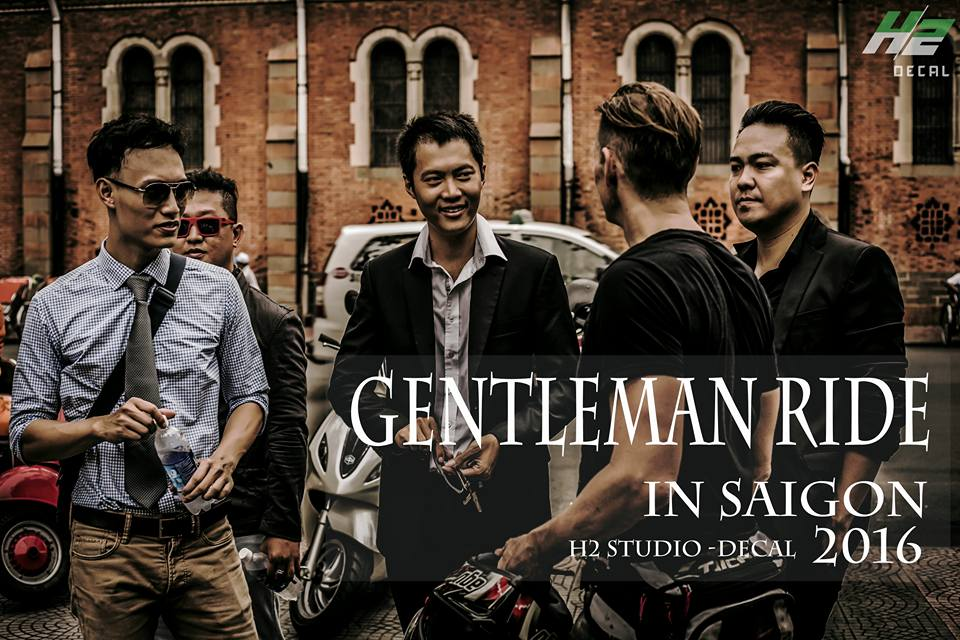 Le hoi Nhung Quy Ong Chay xe Motor 2016 The Distinguished Gentlemans Ride