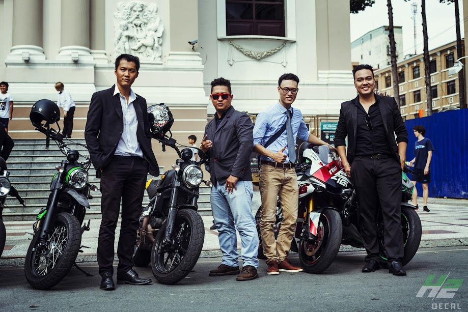 Le hoi Nhung Quy Ong Chay xe Motor 2016 The Distinguished Gentlemans Ride - 3