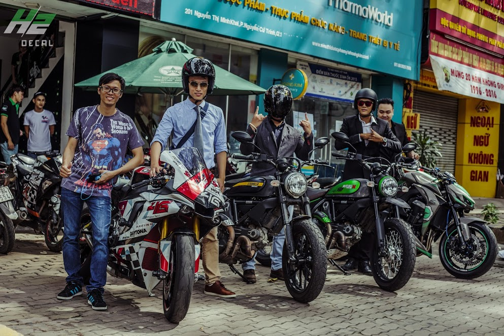 Le hoi Nhung Quy Ong Chay xe Motor 2016 The Distinguished Gentlemans Ride - 5