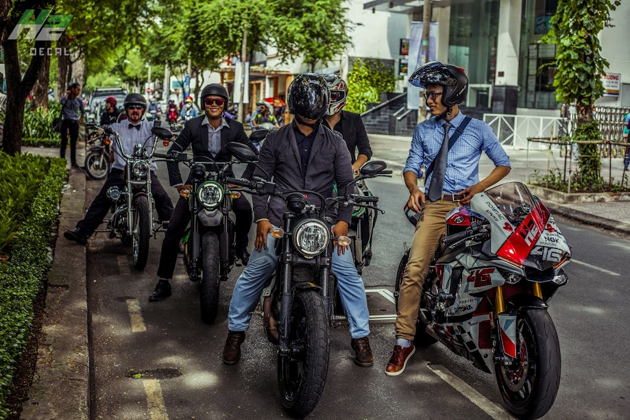 Le hoi Nhung Quy Ong Chay xe Motor 2016 The Distinguished Gentlemans Ride - 21